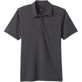 Prana Polo Men black stripe